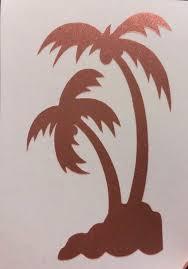 Palm Tree Decal Palm Tree Sticker Laptop Sticker Tumbler Etsy Palm Tree Sticker Tree Decals Elephant Decal
