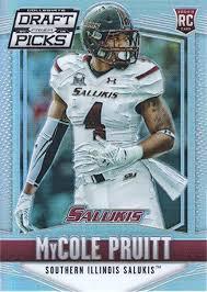 2015 Panini Prizm Draft Picks Prizms #226 MyCole Pruitt Southern Illinois  at Amazon's Sports Collectibles Store