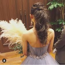 Added by @muebe.bridal Instagram post ✴︎ ポニーテールアレンジ ...