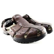 teva shoes mens leather sandals size