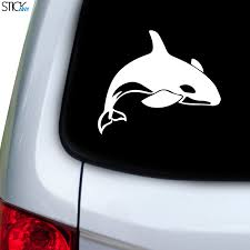 Killer Whale Decal For Car Window Stickany