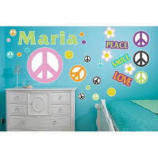 Peace Sign Wall Decals Shindigz