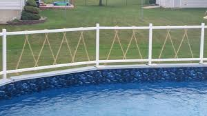 Homemade Pool Fence Backyard Fences Backyard Front Yard Fence