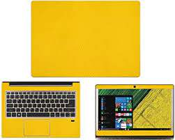 Amazon Com Decalrus Protective Decal For Acer Swift 1 Sf113 31 P6xp 13 3 Screen Laptop Yellow Carbon Fiber Skin Case Cover Wrap Cfswift1 Sf113 31yellow Electronics