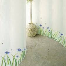 Iris Home Decor Flower Wall Removable Stickers Wallstickery Com