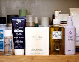 bathroom shelf makeup removers
