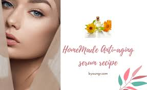 homemade anti aging face recipes