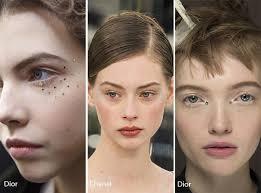 runway makeup trends spring 2016