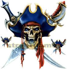 Skull Decal Graphic For Motorcycle Windscreens Skull Decal Car Decals Stickers Pirate Skull