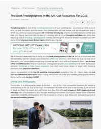 10 wedding photographers of the uk