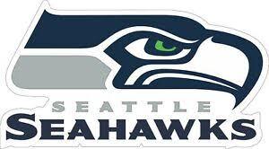 Seattle Seahawks Nfl Football Wall Decor Sticker Large Vinyl Decal 14 X 8 Ebay