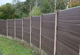 Eco Fencing Maintenance Free Fencing System Use With Existing Concrete Posts