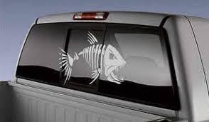 Big Fish Decal Truck Car Window Boat Sticker Fishing Sportsmen Ebay Boat Decals Boat Stickers Fishing Decals