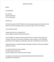 cease and desist letter