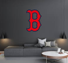 Boston Red Sox Logo Wall Decal Egraphicstore