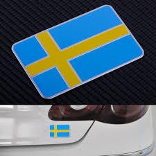 3d Aluminum Sweden Swedish Flag Car Sticker Emblem Badge Decal Fender Trunk Archives Statelegals Staradvertiser Com