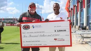 Tavaris Johnson on Being Named Bucs High School Coach of the Year Winner