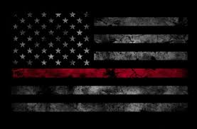 thin red line flag wallpaper