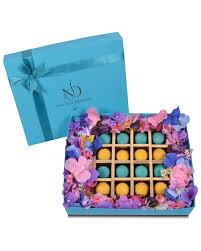 16pcs macaron gift box njd chocolate
