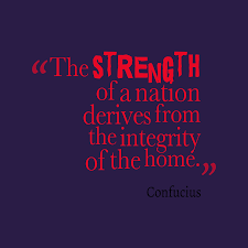 confucius quote about home