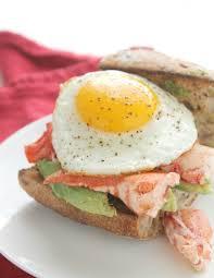 Egg and Avocado Breakfast Sandwich ...