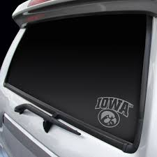 Iowa Hawkeyes Decal Chrome Window Graphic Sports Addict