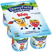 stonyfield organic low fat strawberry