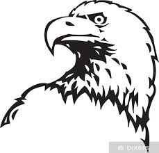 Bald Eagle Vinyl Ready Vector Illustration Wall Mural Pixers We Live To Change