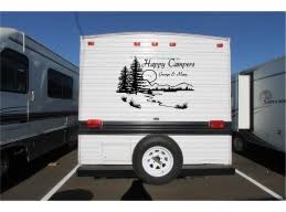 Personalized Lake Landscape Camper Rv Vinyl Decal Sticker Camper Graphics