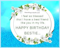 birthday wishes for best friend male wordings and messages