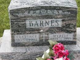 BARNES, MYRTLE - Howard County, Iowa   MYRTLE BARNES - Iowa Gravestone  Photos