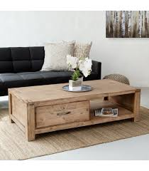 vancouver acacia wood coffee table for