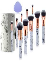 10pcs makeup brush set smooth