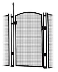 Sentry Safety Pool Fence Visiguard 5 Tall Selfclosingself Latching Pool Fence Child Safety Gate Black Visit The Im Pool Fence Child Safety Gates Fence Gate