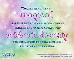 something magical happens in inclusive classrooms that celebrate