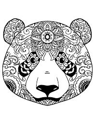 Resultat De Recherche D Images Pour Panda Mandala A Colorier
