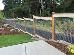 Custom 6ft Deco Mesh Fencing Contemporary Exterior Seattle By Western Pacific Fence