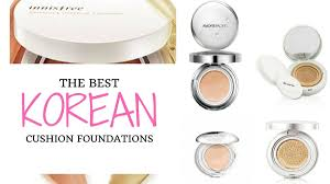 10 best korean cushion foundation