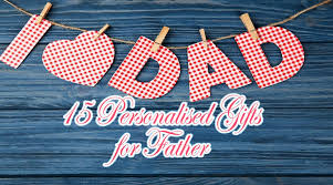 15 personalised gifts for father gift