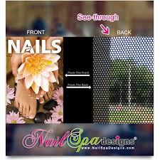 Nail Spa Printing Window Decals Gel Manicure Nails Nails Desing