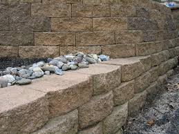 how to build a retaining wall with blocks