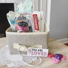 love basket with printable labels