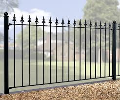 Warwick Metal Garden Fencing Panels Wrought Iron Gates Direct