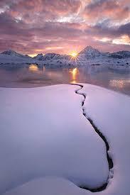 winter sunset iphone wallpaper hd