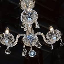 Shop Kids Room Chandelier 4 Light With Clear Crystal Mini Chandelier Chrome Finish Overstock 10112568