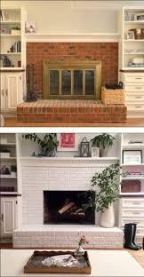 30 stunning white brick fireplace ideas