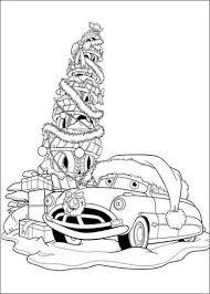 Kids N Fun 5 Kleurplaten Van Kerstmis Cars