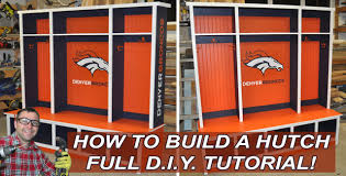 How To Build A Bedroom Hutch Or Mudroom Hutch With Diy Pete Youtube
