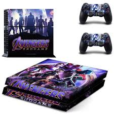 The Avengers Endgame Iron Man Spiderman Ps4 Skin Sticker Decal Vinyl For Playstation 4 Console And 2 Controller Ps4 Sticker Skin Consoleskins Co