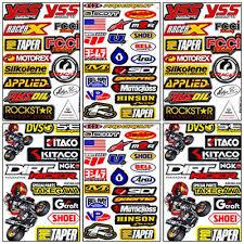 Motorcross Racing Dirt Bike Sticker Sheet Vinyl Decal Mx Graphics Car Helmet Atv Archives Statelegals Staradvertiser Com